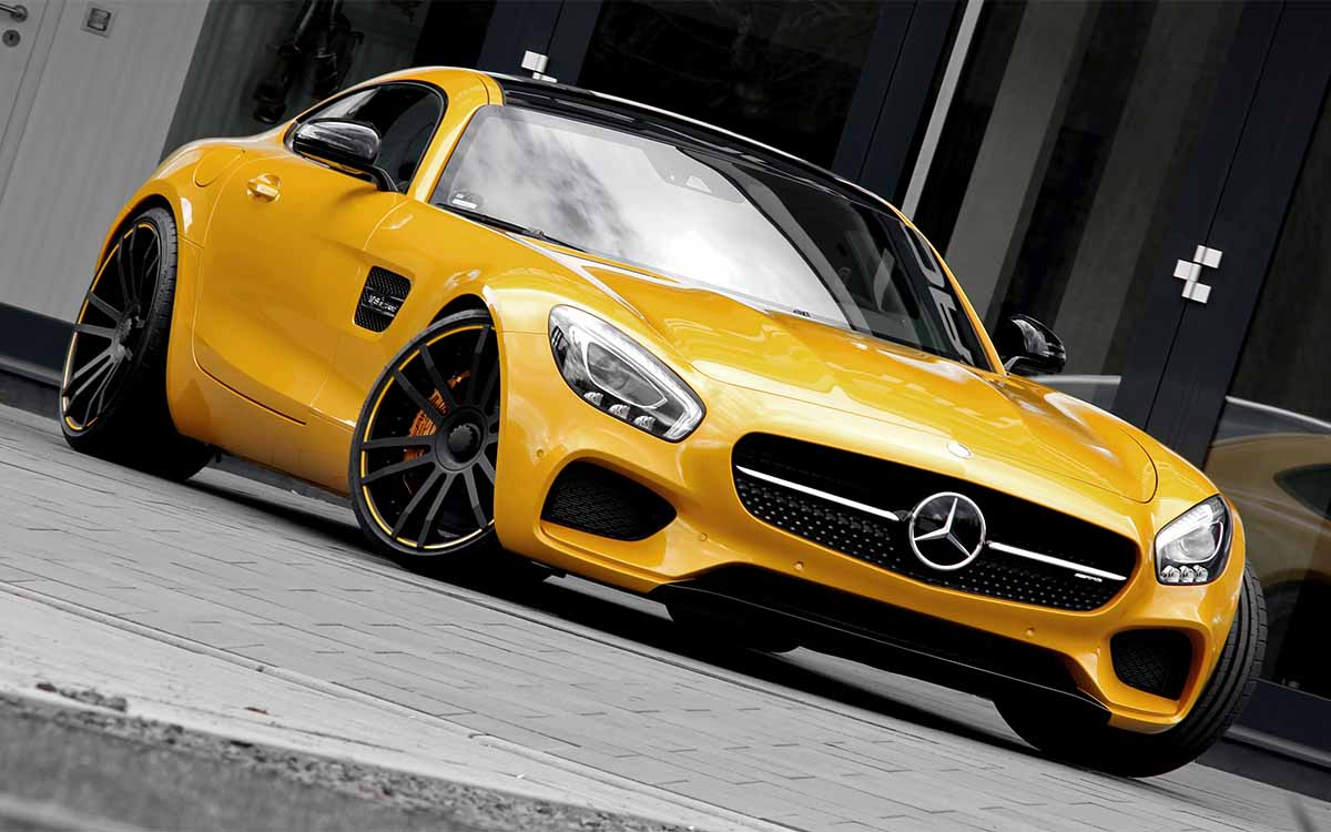 Mercedes AMG GT S Startrack 6.3 Cover fx