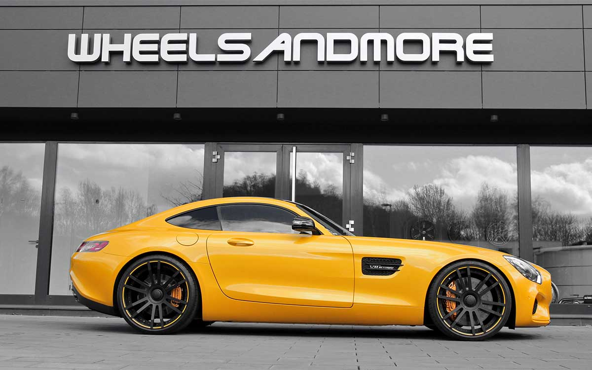 Mercedes AMG GT S Startrack 6.3 Lateral fx