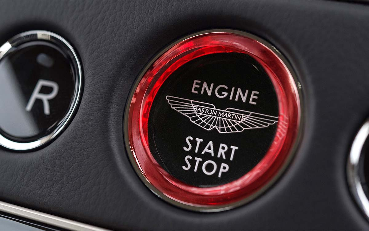 DB11 Start Button fx