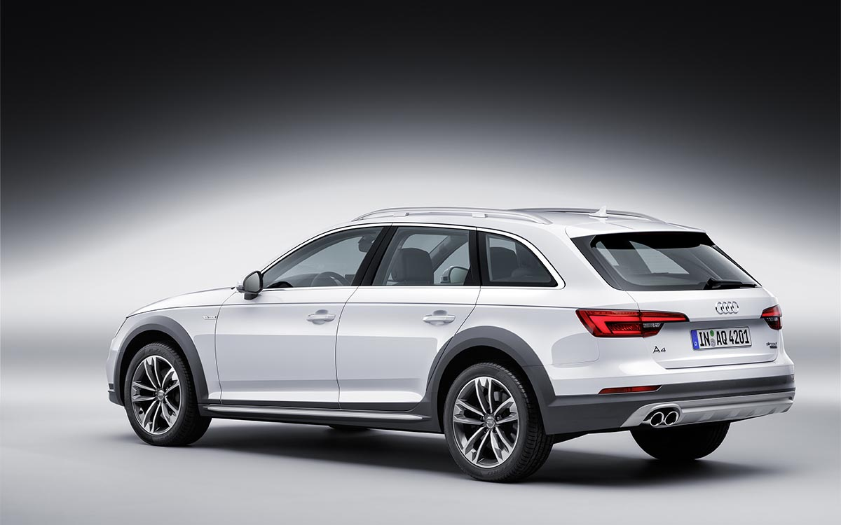 A4 allroad Trasera Lateral fx