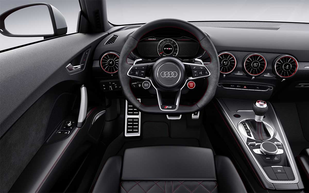 Audi TT RS Coupe Interior fx