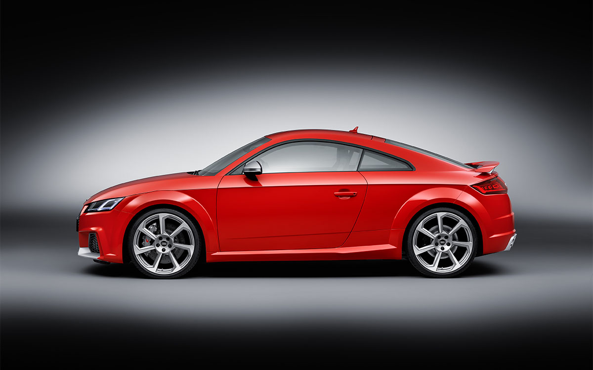 Audi TT RS Coupe Lateral fx
