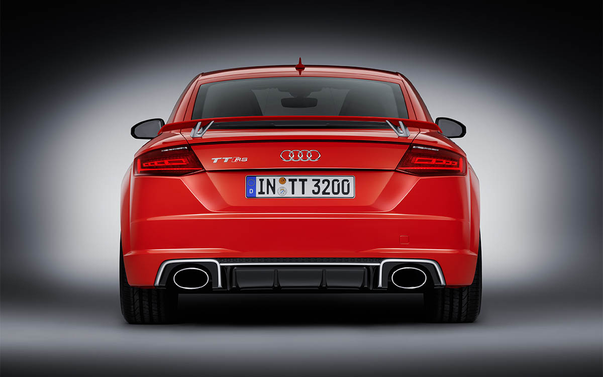 Audi TT RS Coupe Trasera fx