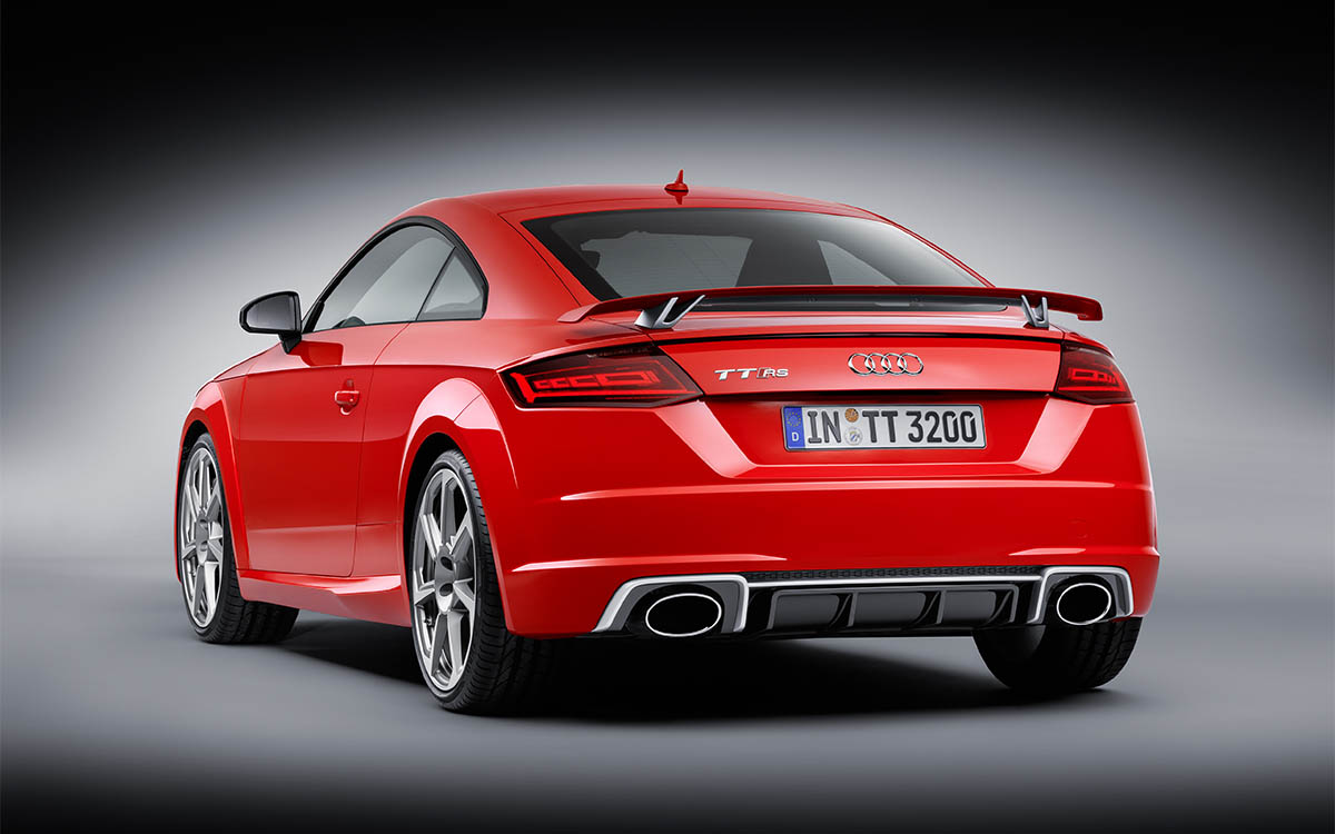 Audi TT RS Coupe Trasera y Lado fx