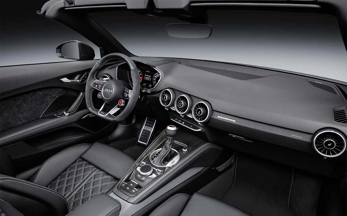 Audi TT RS Roadster Interior 2 fx