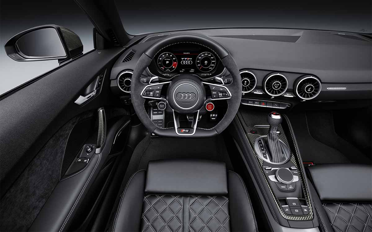 Audi TT RS Roadster Interior fx