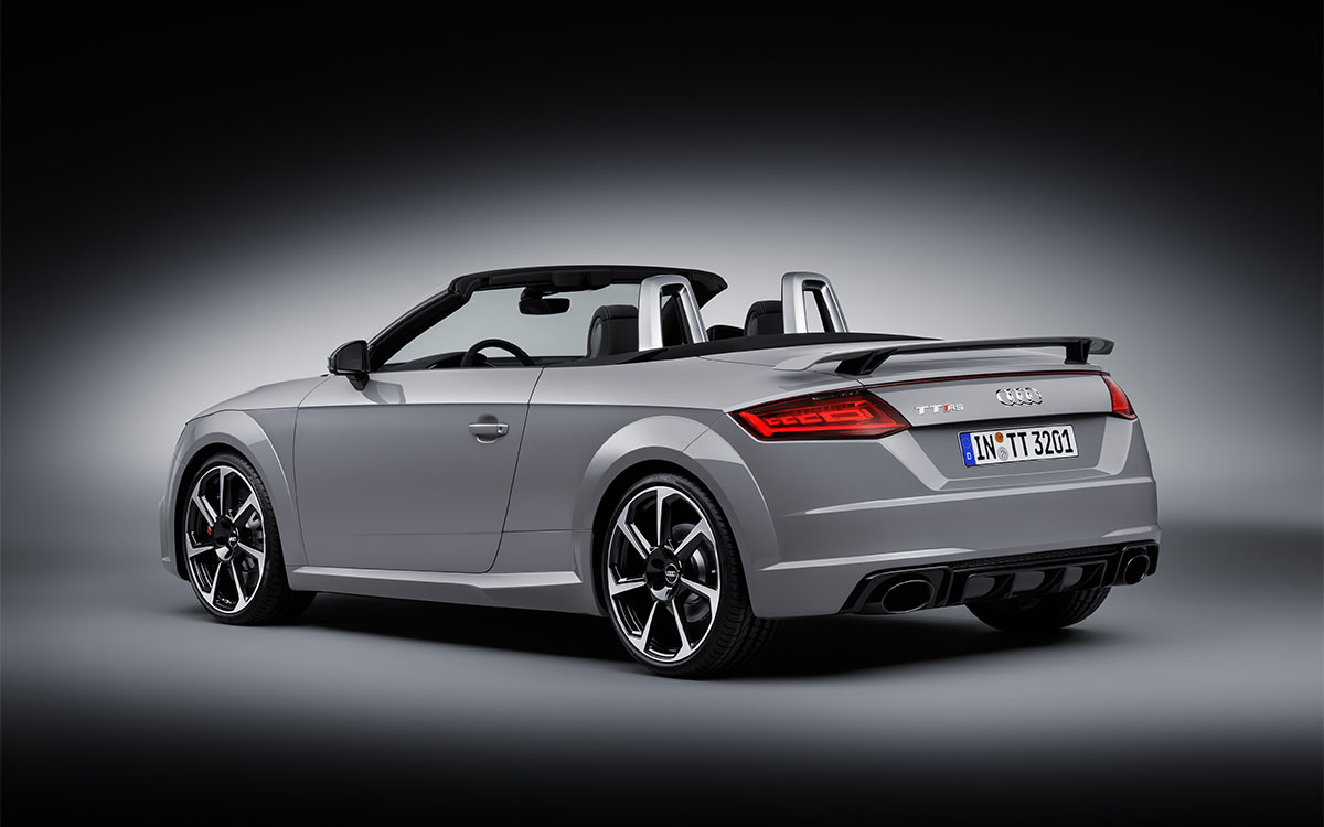 Audi TT RS Roadster Trasera Lateral fx
