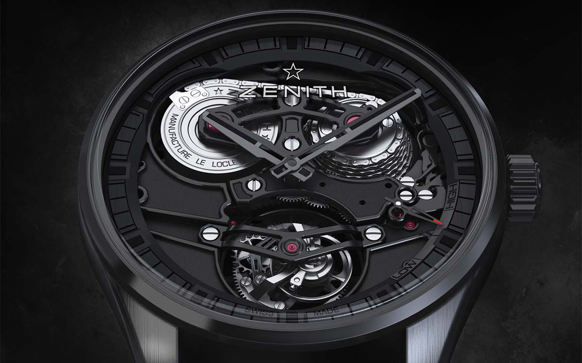 Academy Tourbillon Georges Favre Jacot Frente fx