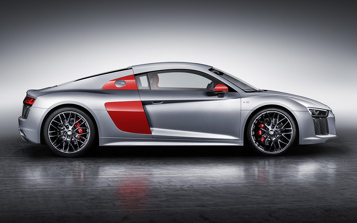Audi R8 Coupe Lateral fx