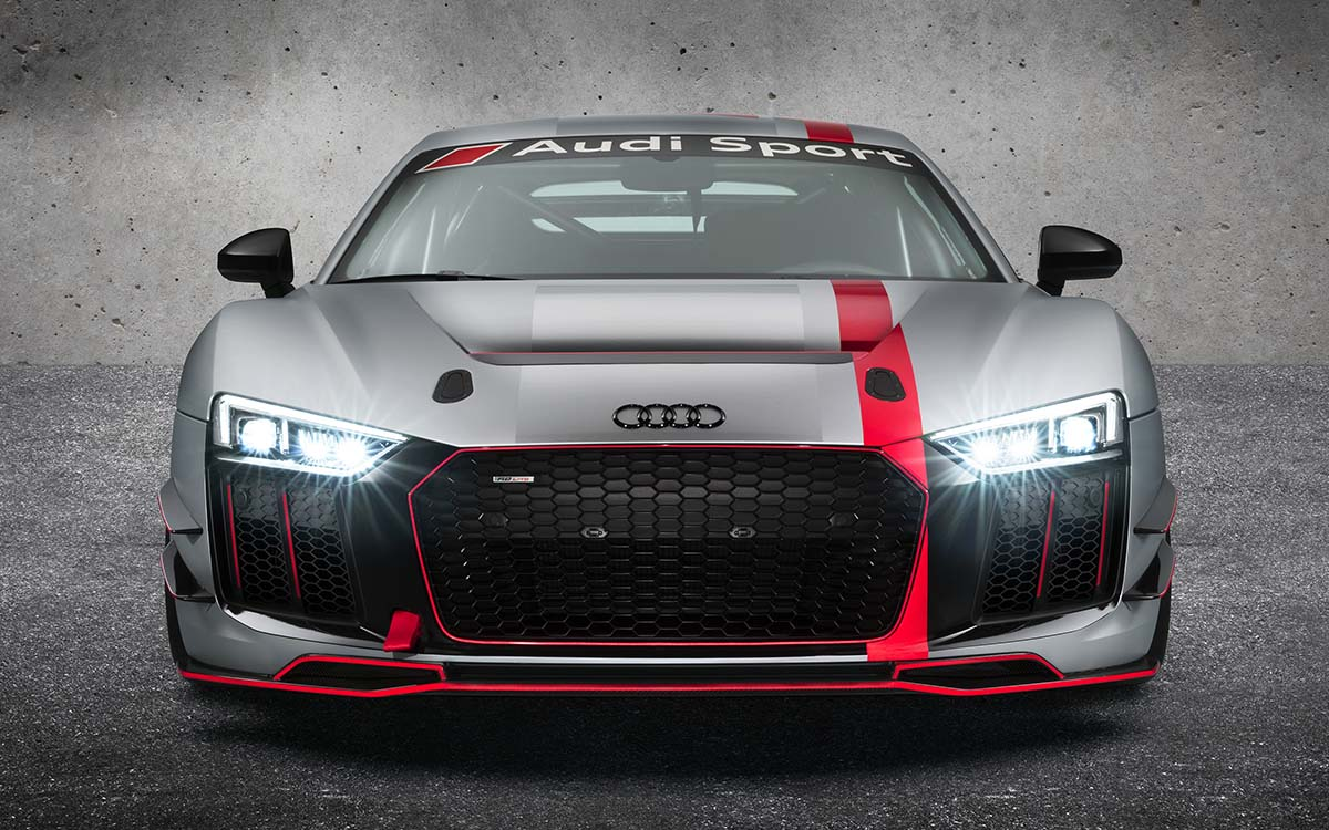 Audi R8 LMS GT4 Frontal Led fx