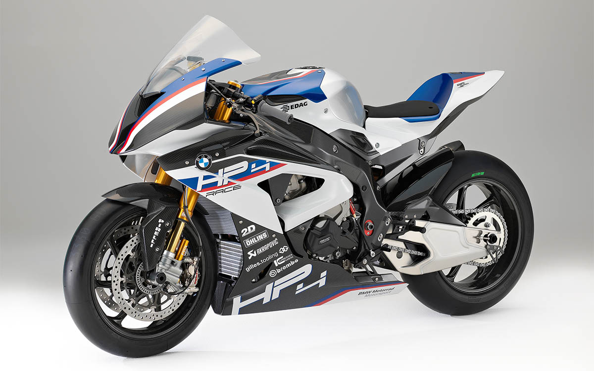 BMW HP4 RACE Frente 3 4 fx