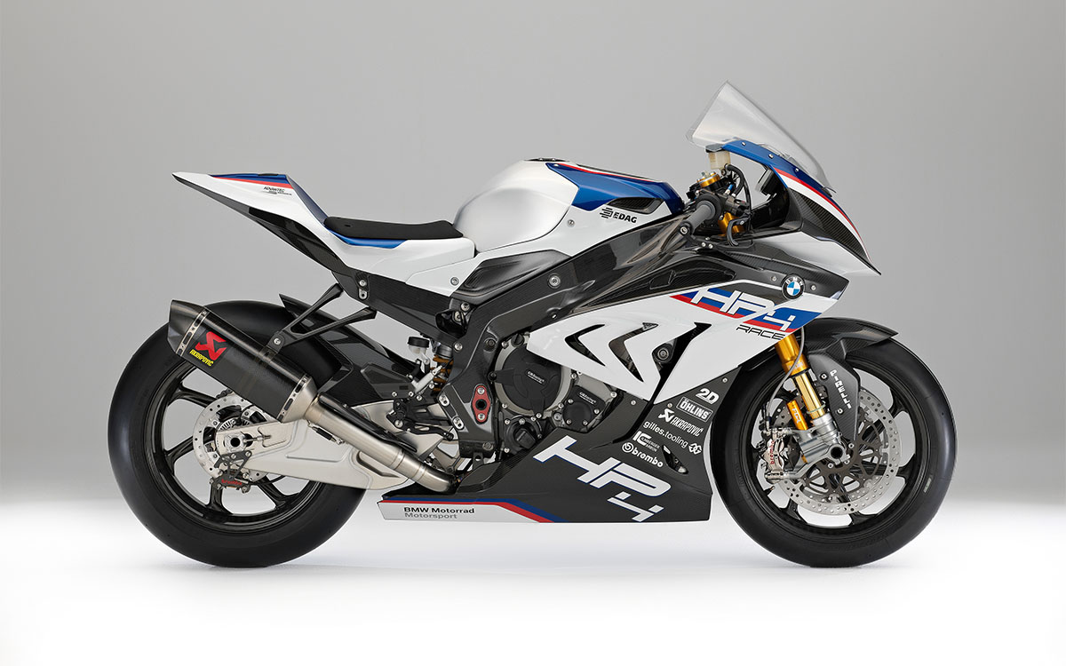BMW HP4 RACE Lateral Derecha fx