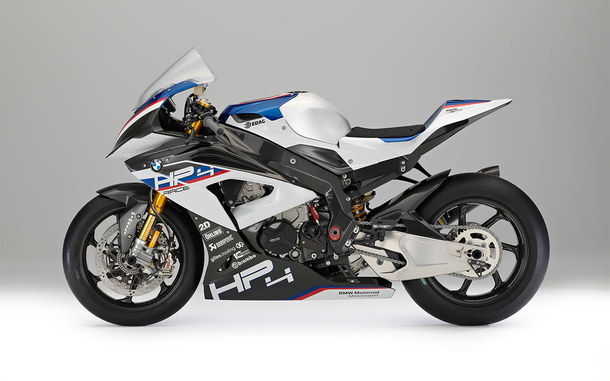 BMW HP4 RACE Lateral Izq fx