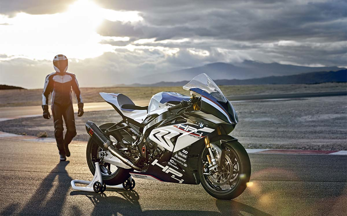 BMW HP4 RACE Piloto fx