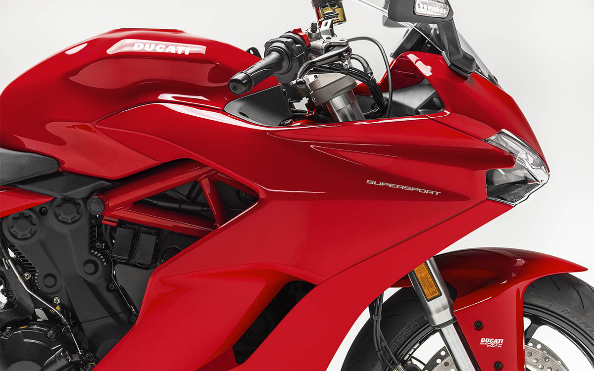 Ducati SuperSport Cover fx
