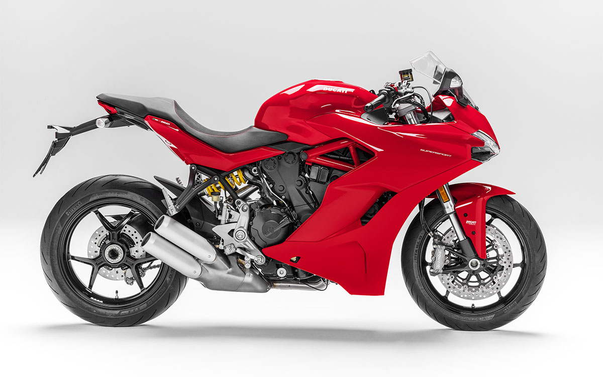 Ducati SuperSport Lateral fx
