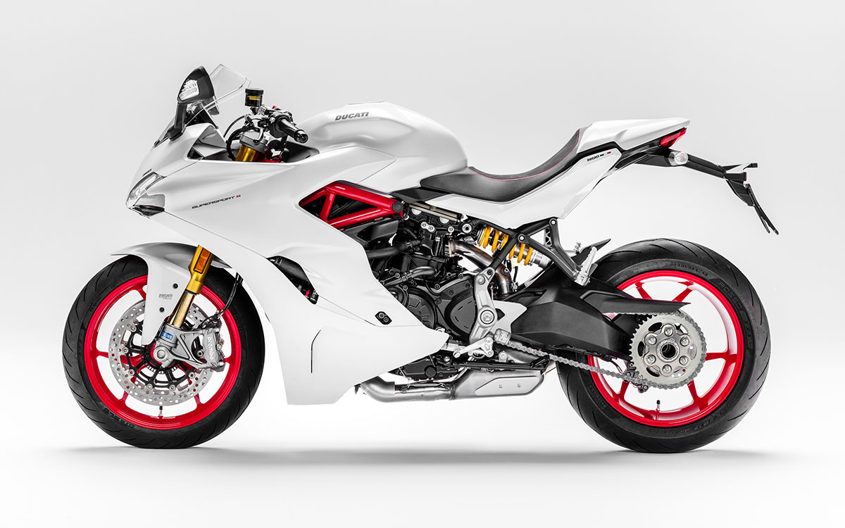 Ducati SuperSport S Lateral fx