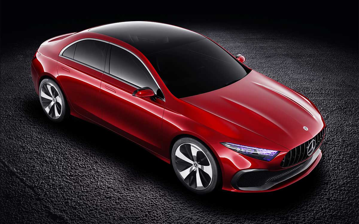 Mercedes Benz Concept A Sedan Aerea fx