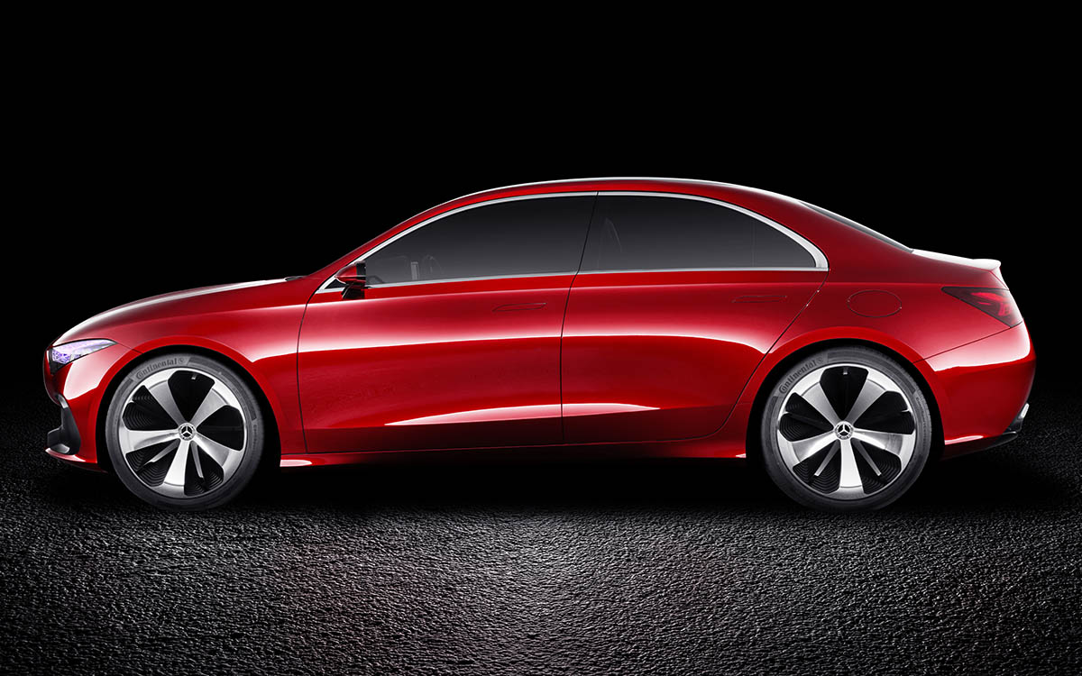 Mercedes Benz Concept A Sedan Lado fx