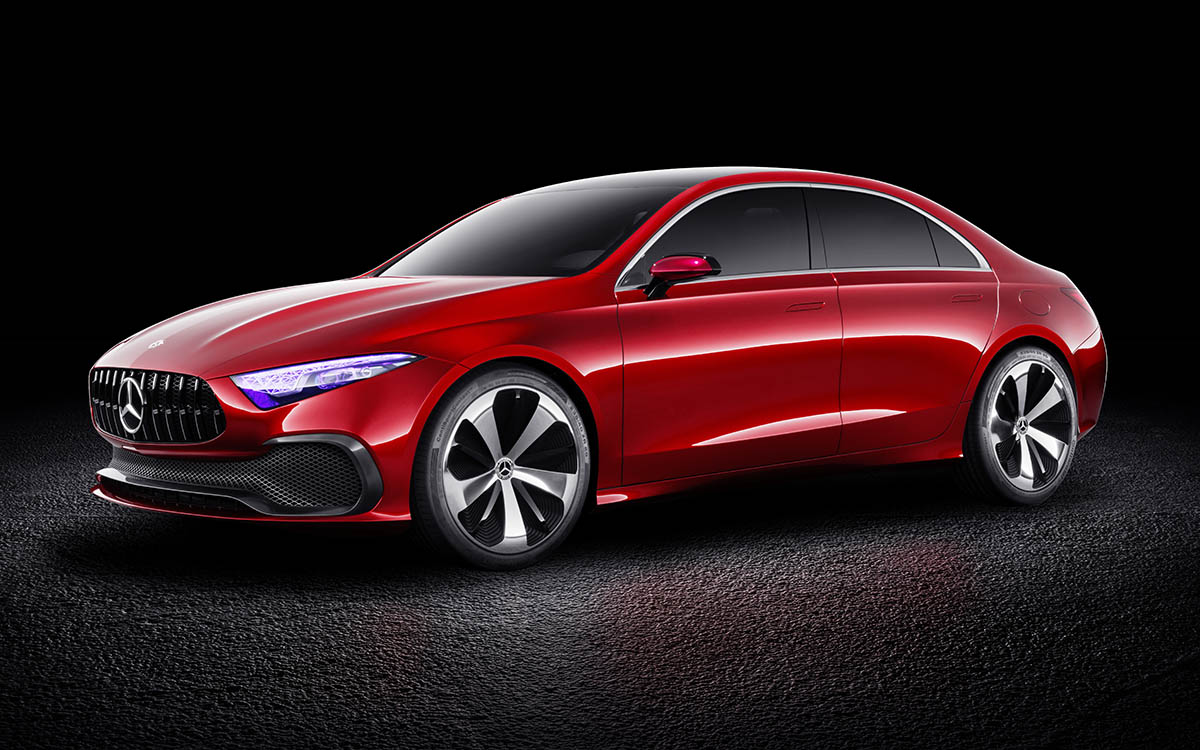 Mercedes Benz Concept A Sedan Lateral fx