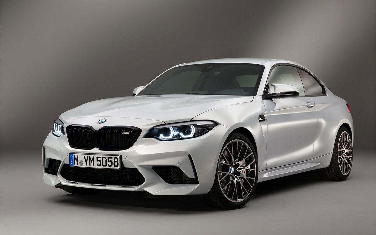 BMW M2 Competition frente 3 4 fx