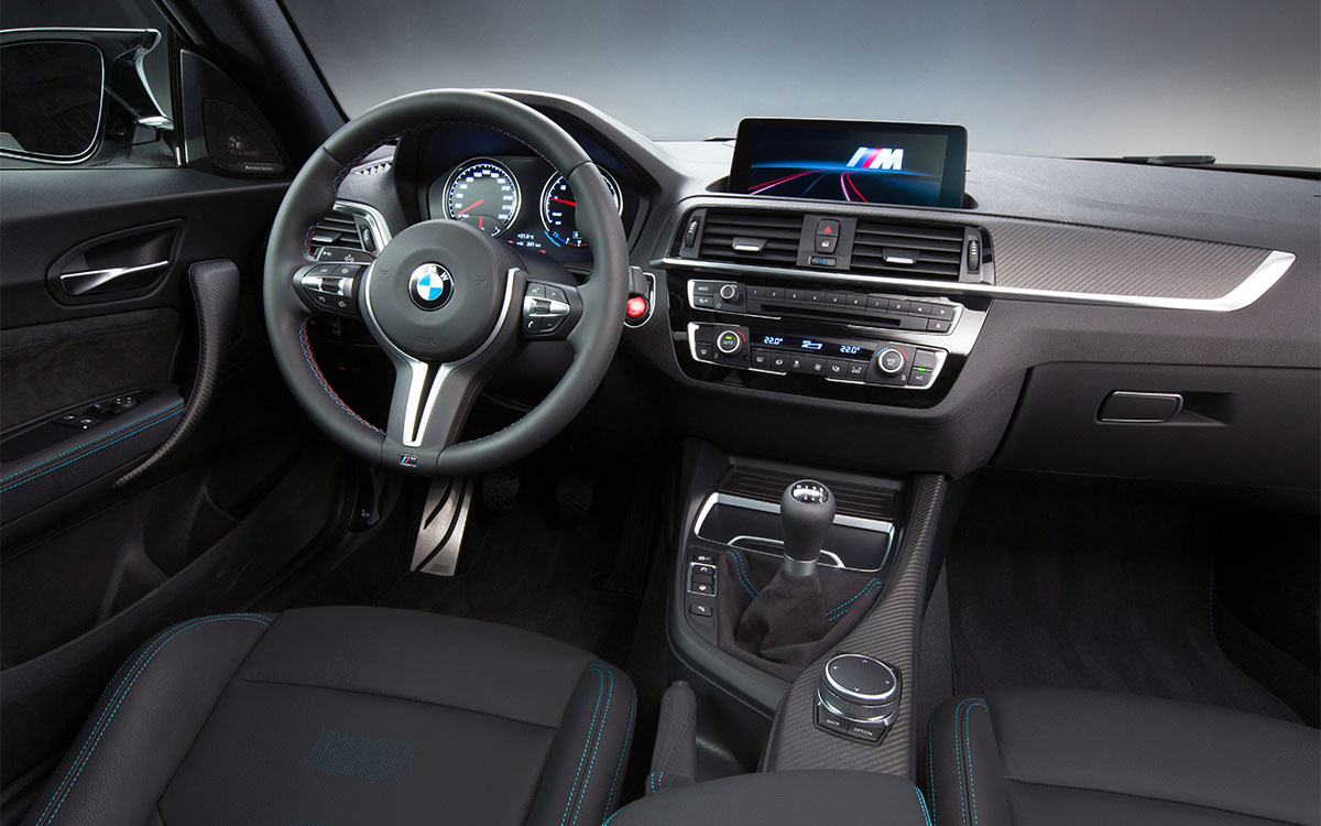 BMW M2 Competition interior fx