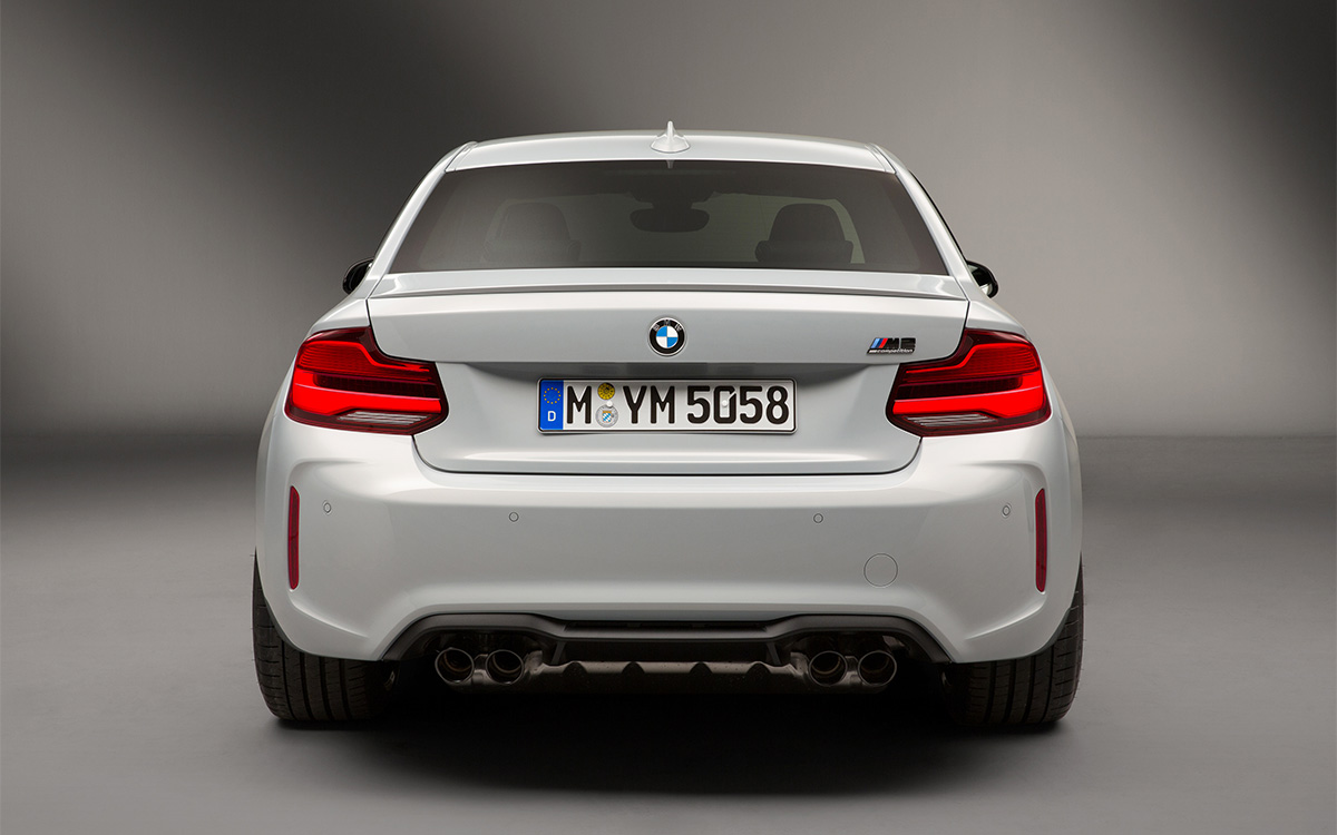 BMW M2 Competition trasera fx