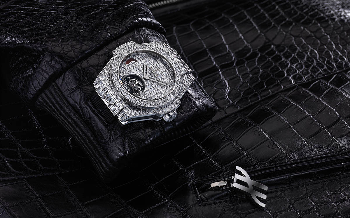 1 million set big bang tourbillon croco high jewellery and a stylish bomber jacket 4 fx
