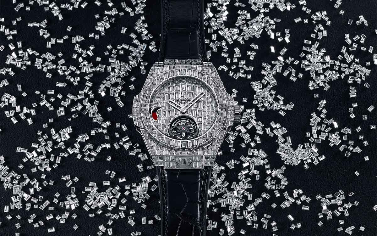 big bang tourbillon croco high jewellery fx