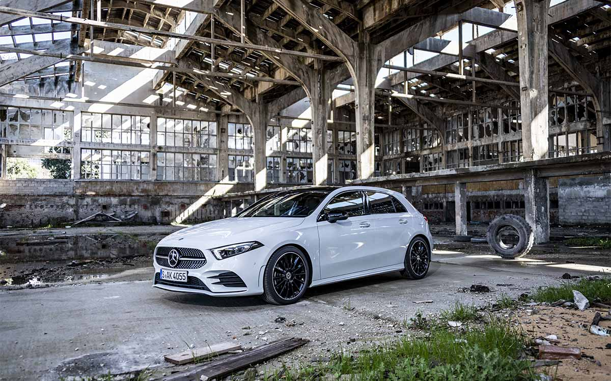Mercedes Benz Clase A lateral fx
