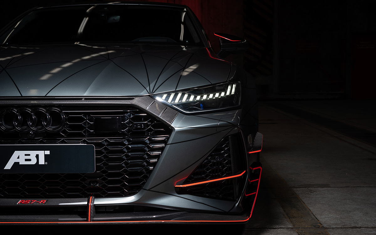 Audi ABT RS7 R frontal cover fx