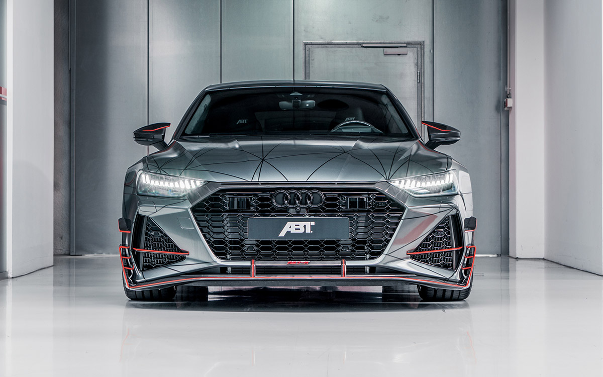 Audi ABT RS7 R frontal fx