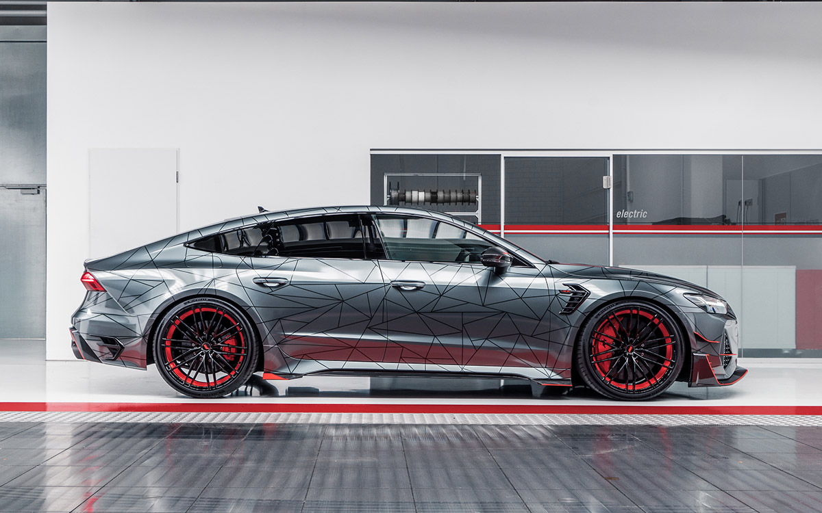 Audi ABT RS7 R lateral fx