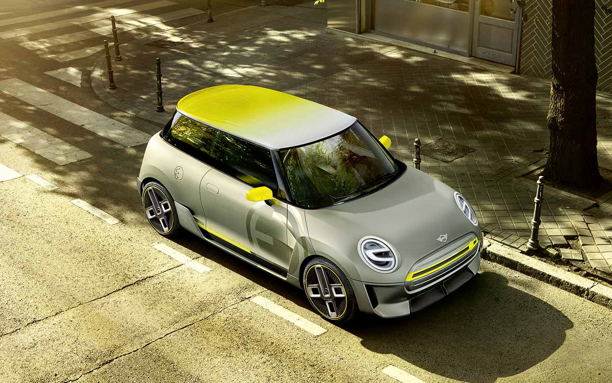MINI Electric Concept aerea fx