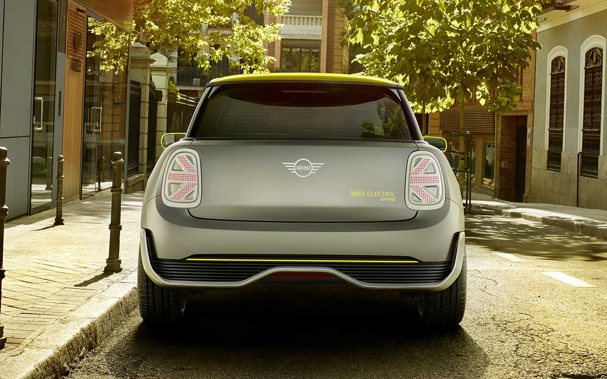 MINI Electric Concept trasera fx