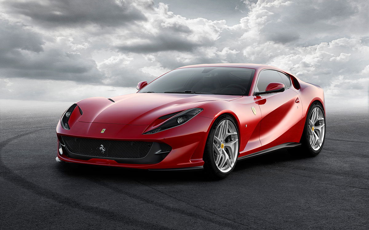 Ferrari 812 Superfast frente cover fx