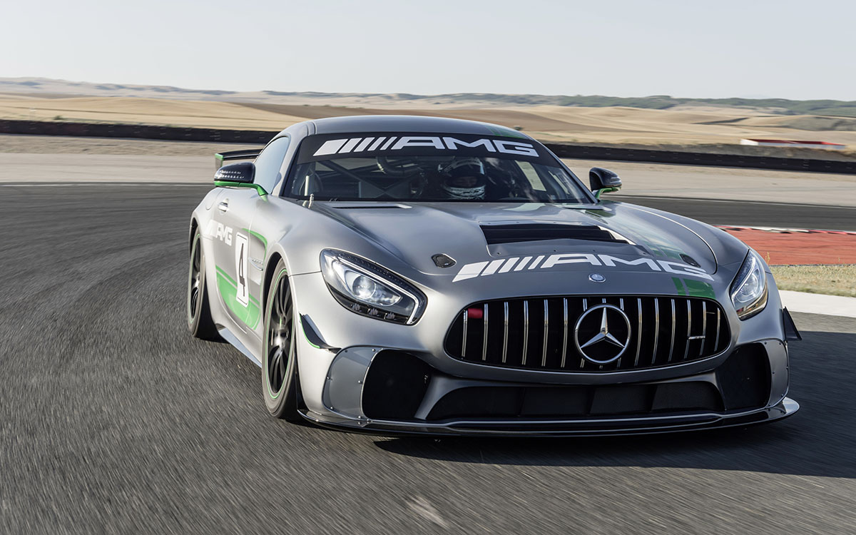 Mercedes AMG GT4 frontal fx