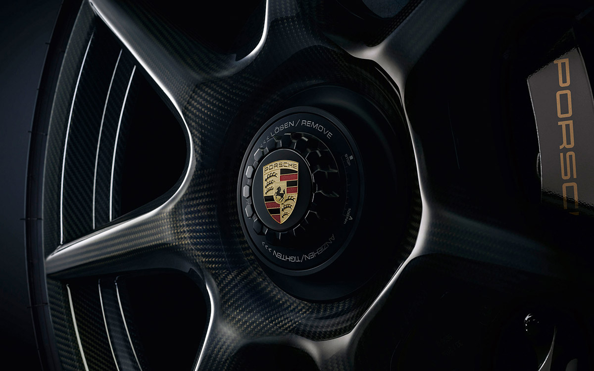 porsche 20 inch 911 turbo carbon wheel detalle fx