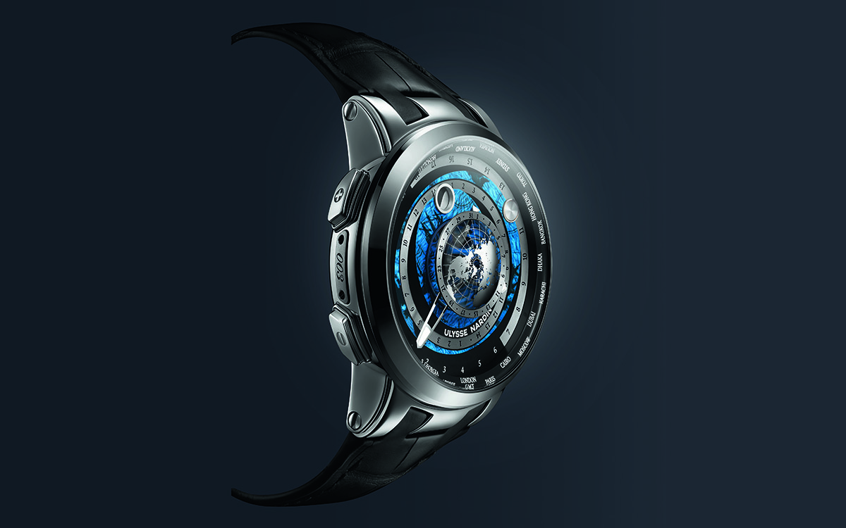 Ulysse Nardin Executive Moonstruck Worldtimer Titanium fx