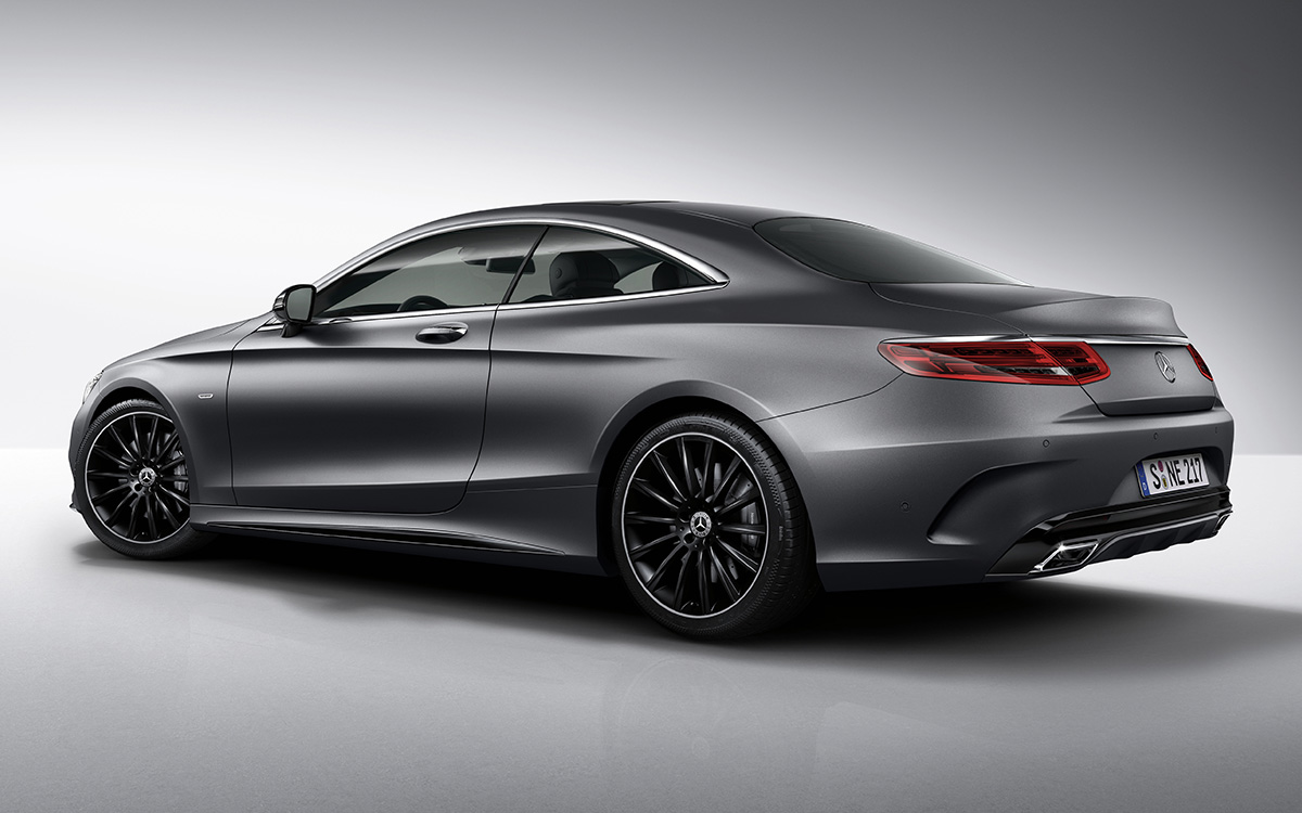 S Class Coupe Night Edition Trasera fx