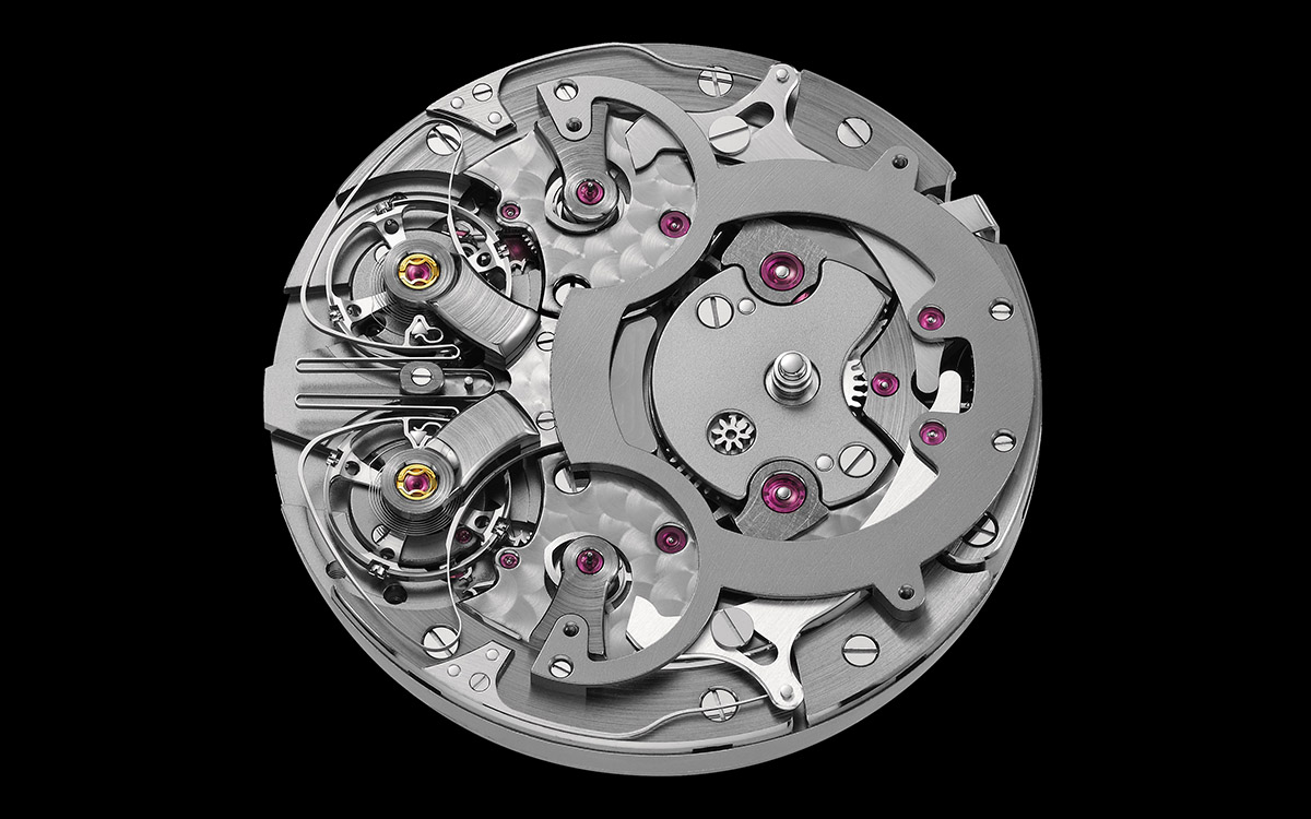 armin strom mirrored froce resonance guilloche dial movimiento fx
