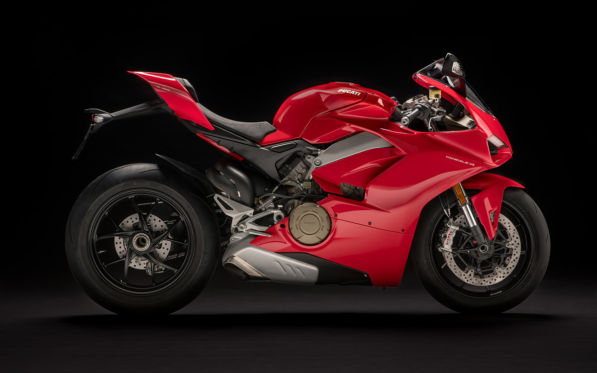 Ducati Panigale V4 lateral der fx