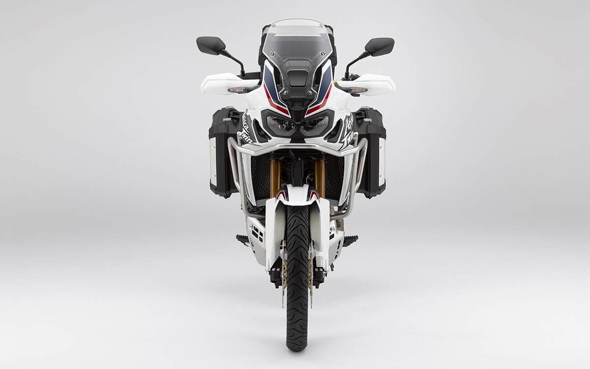 CRF1000L Africa Twin frontal tricolor fx