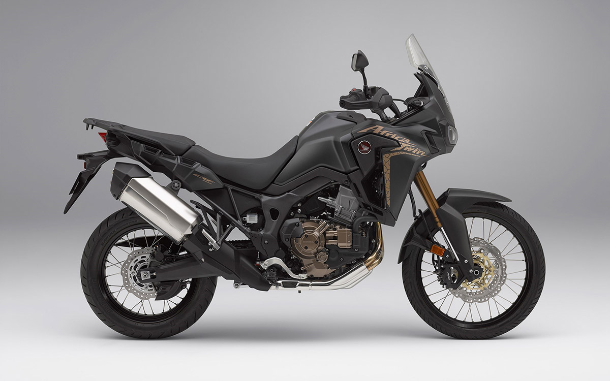 CRF1000L Africa Twin lateral derecha black fx