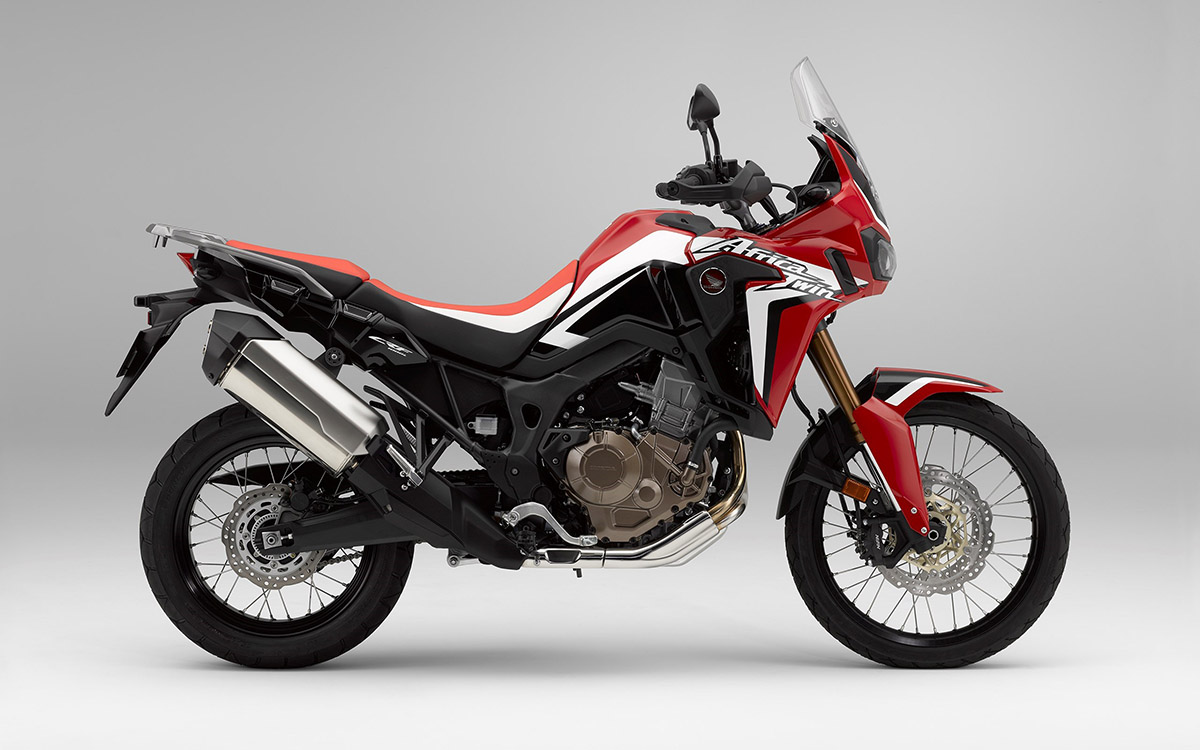 CRF1000L Africa Twin lateral roja fx