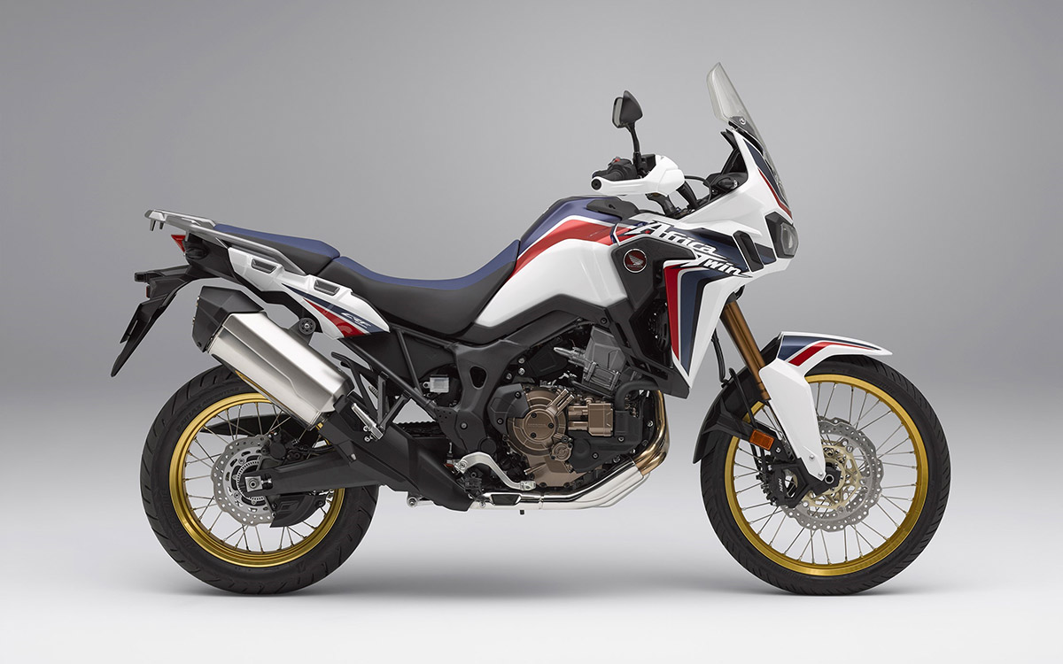 CRF1000L Africa Twin lateral tricolor fx