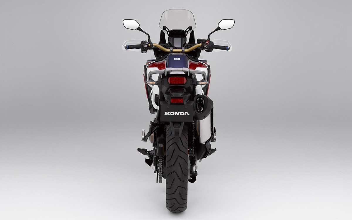 CRF1000L Africa Twin trasera tricolor fx