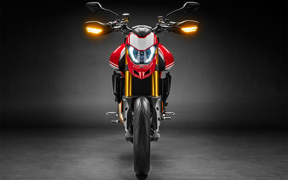 Ducati Hypermotard 950 SP frontal fx