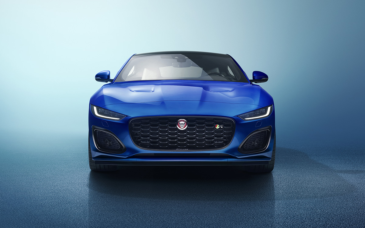 Jaguar F TYPE 2020 frontal fx