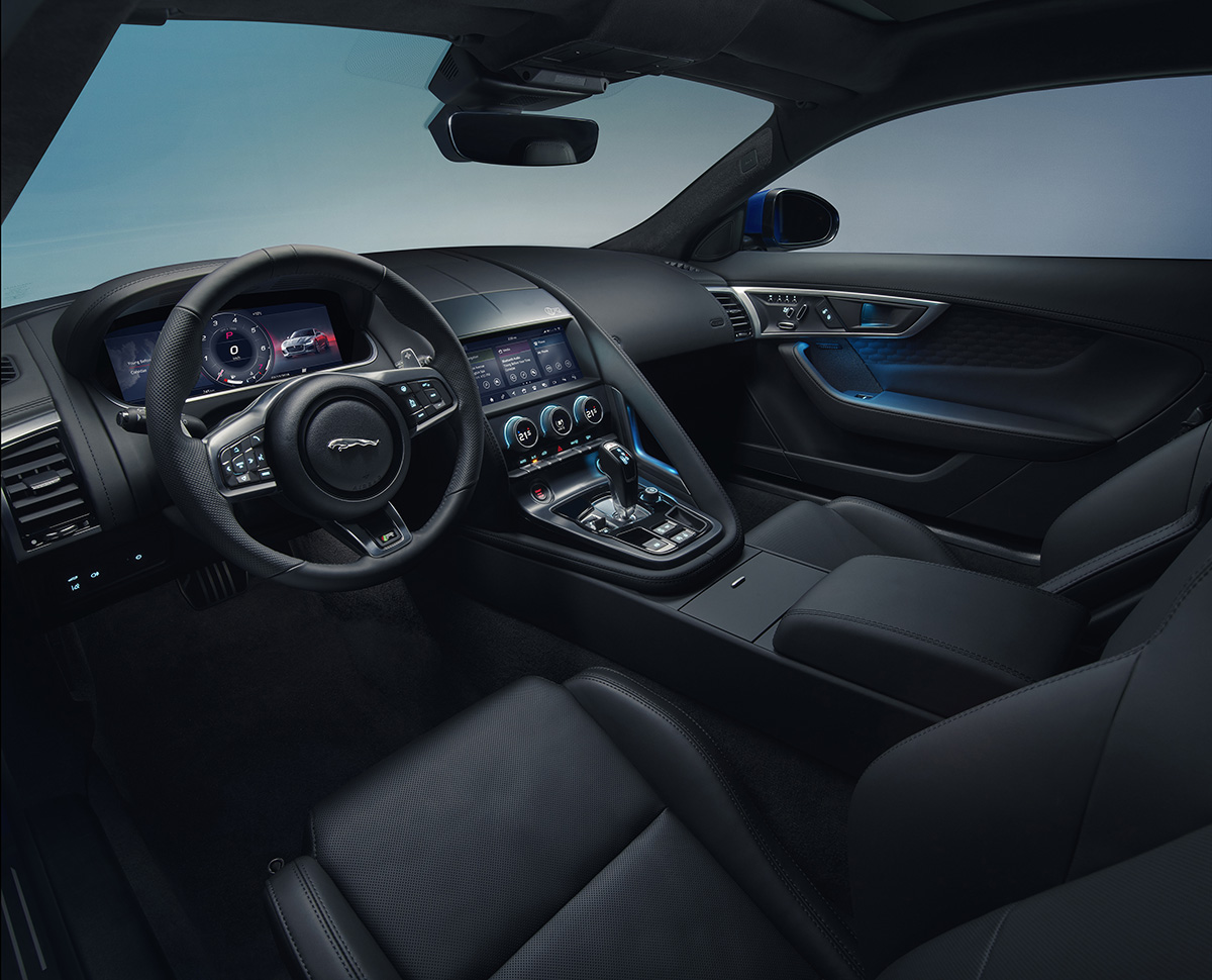 Jaguar F TYPE 2020 interior fx
